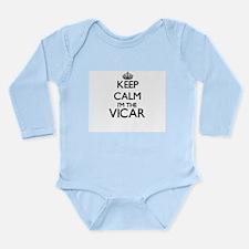 Keep calm I'm the Vicar Body Suit