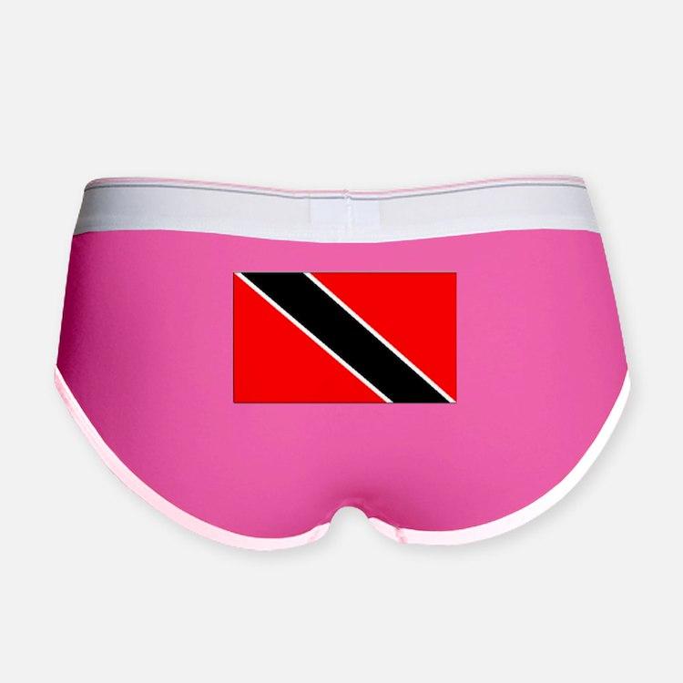 Trinidad And Tobago Flag Women's Boy Brief