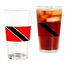 Trinidad And Tobago Flag Drinking Glass
