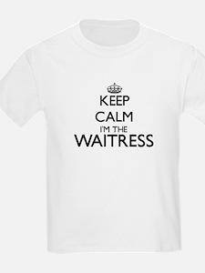 Keep calm I'm the Waitress T-Shirt