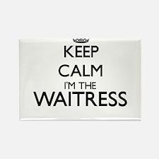 Keep calm I'm the Waitress Magnets