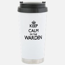 Keep calm I'm the Warde Stainless Steel Travel Mug