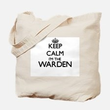 Keep calm I'm the Warden Tote Bag