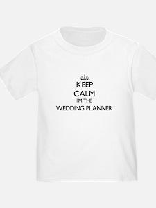 Keep calm I'm the Wedding Planner T-Shirt