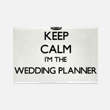 Keep calm I'm the Wedding Planner Magnets