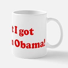 You bet I got a crush on Oba Mug