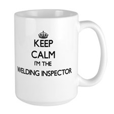 Keep calm I'm the Welding Inspector Mugs
