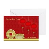 Chinese new year greeting cards Greeting Cards