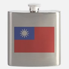 Taiwan Flag Flask