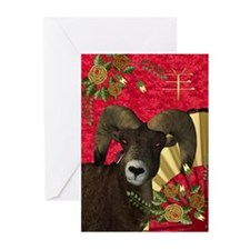 Chinese New Year Greeting Cards (pk Of 10)