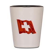 Switzerland Flag Shot Glass