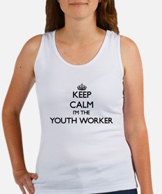 Keep calm I'm the Youth Worker Tank Top