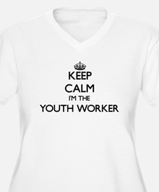 Keep calm I'm the Youth Worker Plus Size T-Shirt
