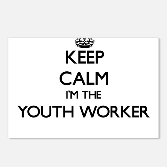 Keep calm I'm the Youth W Postcards (Package of 8)