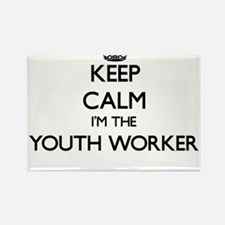 Keep calm I'm the Youth Worker Magnets