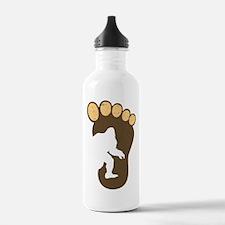 Bigfoot Print Water Bottle