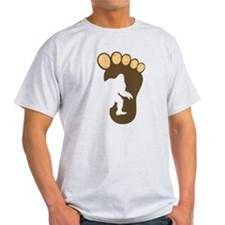 Bigfoot Print T-Shirt