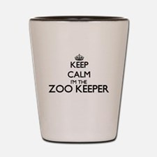 Keep calm I'm the Zoo Keeper Shot Glass