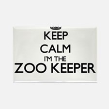 Keep calm I'm the Zoo Keeper Magnets