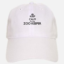 Keep calm I'm the Zoo Keeper Baseball Baseball Cap