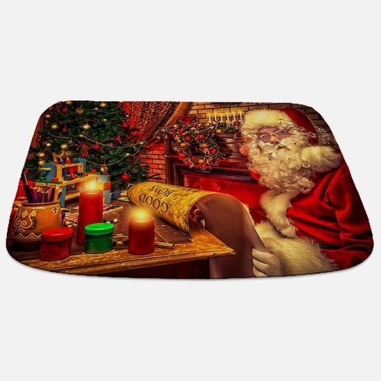 Santa Claus 4 Bathmat