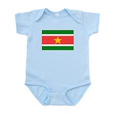 Suriname Flag Body Suit