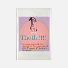Thoth, Patron of Writers, Rectangle Magnet