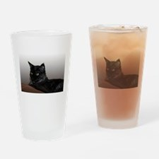 Maine Coon Cat Siri Drinking Glass