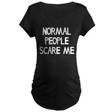 Normal People Scare Me Humo T-Shirt