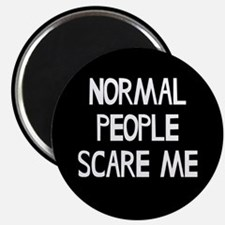 """Normal People Scare Me Hum 2.25"""" Magnet (100 pack)"""