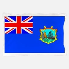 Old St Helena Flag Pillow Case