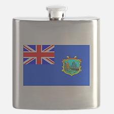 Old St Helena Flag Flask
