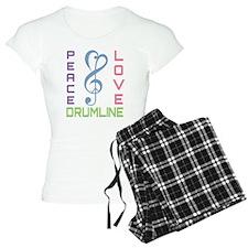 Peace Love Drumline Pajamas