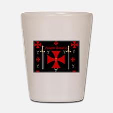 Knights Templar Shot Glass