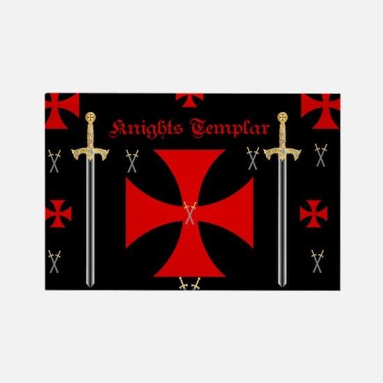 Knights Templar Magnets