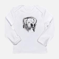 Beautiful White Boxer Long Sleeve T-Shirt