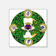 Poly Claddagh Brooch Sticker