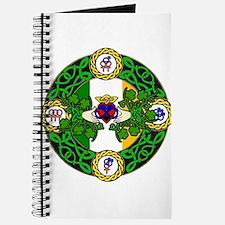 Poly Claddagh Brooch Journal