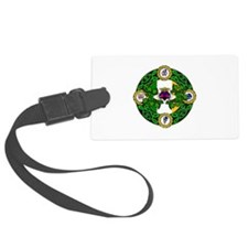 Poly Claddagh Brooch Luggage Tag