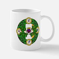 Poly Claddagh Brooch Mugs