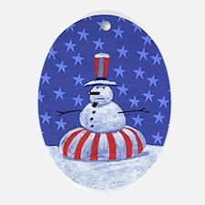 RAGmedia Oval Ornament