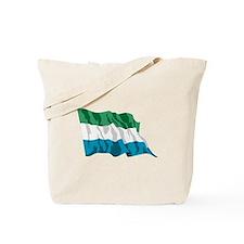 Sierra Leone Flag Tote Bag