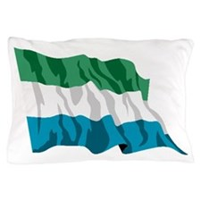 Sierra Leone Flag Pillow Case