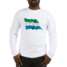 Sierra Leone Flag Long Sleeve T-Shirt