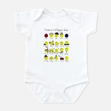 Michigan Smiley Infant Bodysuit