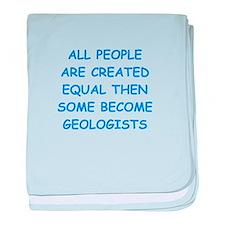 geology baby blanket