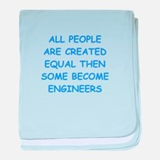 engineer baby blanket