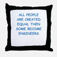 engineer Throw Pillow