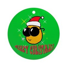 Tater Christmas Ornament (round)
