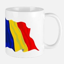 Romania Flag Mugs